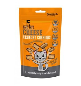 Rosewood Daily Eats Crunchy Cushions Cheese Cat Treats, 60g