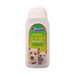 Johnsons Veterinary White n Bright Cat & Dog Shampoo for light coats. 200ml