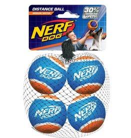 Nerf Non Squeak Blaster Reloads Distance Tennis Ball Dog Toys, 6.4cm 4 pack