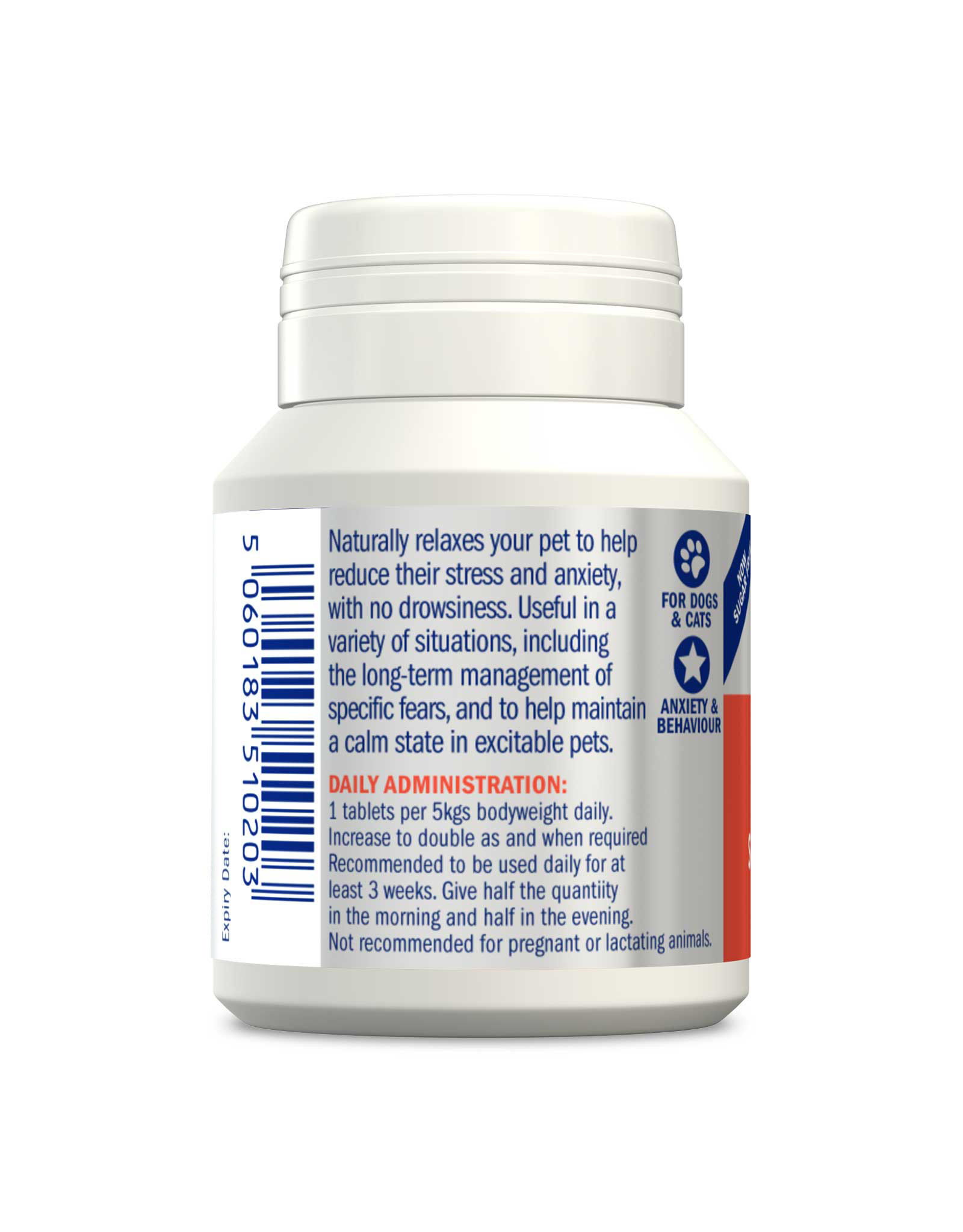 Dorwest Scullcap & Valerian Tablets