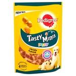 Pedigree Tasty Minis Puppy Dog Treats with Chicken, 125g