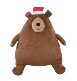 Rosewood Christmas Festive Giggling Bear Dog Toy