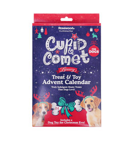 Rosewood Christmas Luxury Treat & Toy Advent Calendar for Dogs