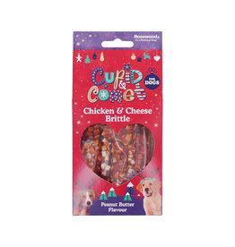 Rosewood Christmas Chicken & Cheese Brittle Dog Treats, 150g