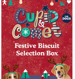 Rosewood Christmas Festive Biscuit Selection Box for Dogs, 350g