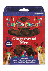 Rosewood Christmas Gingerbread Men Treat Gift Box for Dogs, 160g