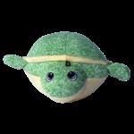 Gor Pets Hugs Softball Turtle Dog Toy, 19cm