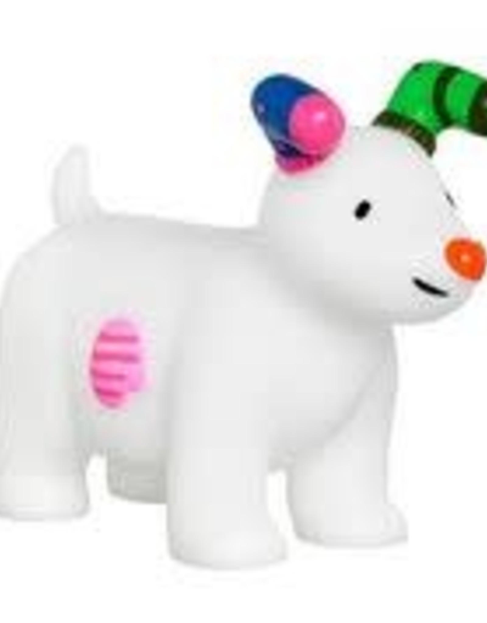 Good Boy Christmas The Snowman & Snowdog Squeaky Dog Toy, 11.5cm 4.5inch