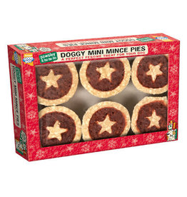 Good Boy Christmas Doggy Mince Pies, 5cm 2inch, 6 pack