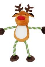 Good Boy Christmas Large Hug Tug Reindeer, 60cm 24inch