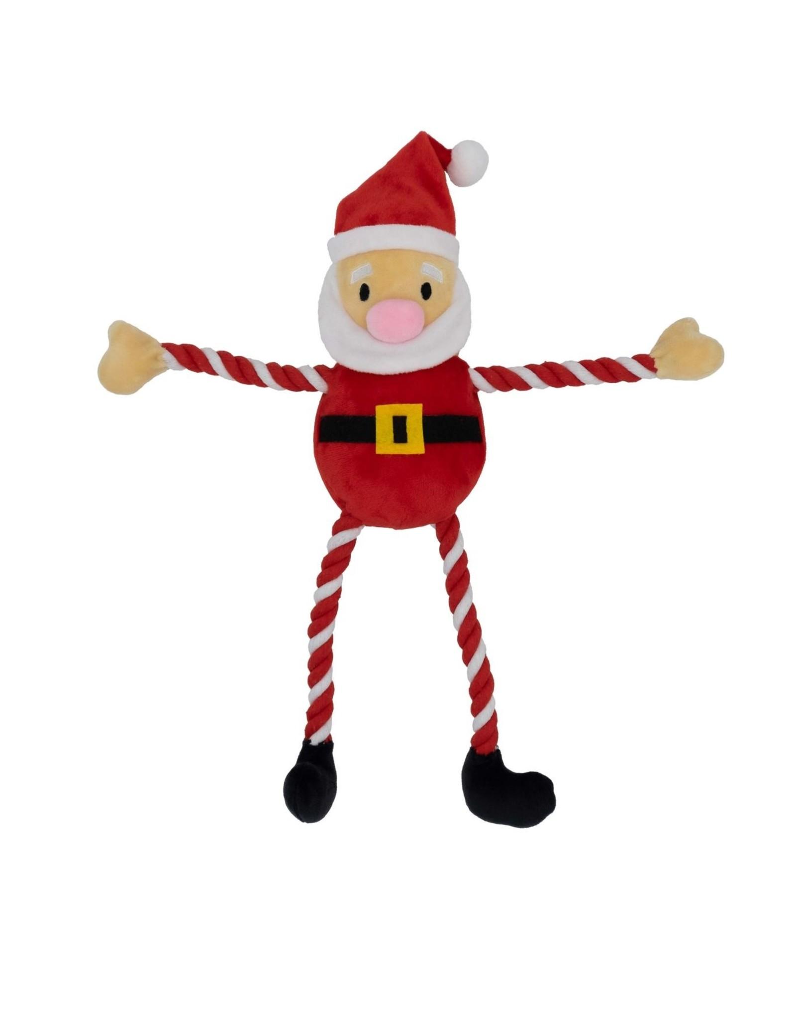 Good Boy Christmas Hug Tug Santa Dog Toy, 40cm 16inch