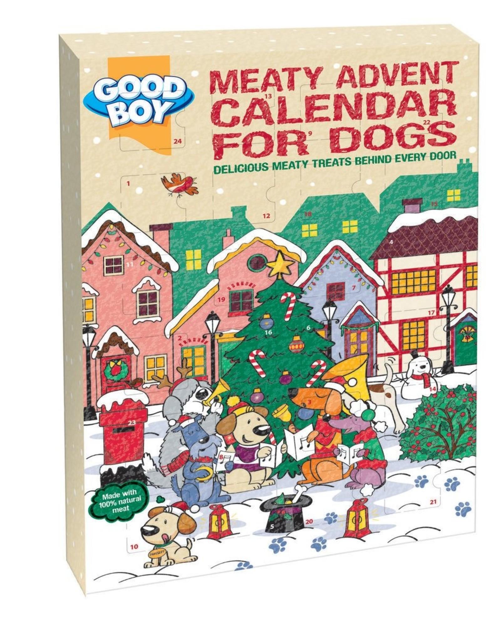 Good Boy Christmas Dog Meaty Treats Advent Calendar