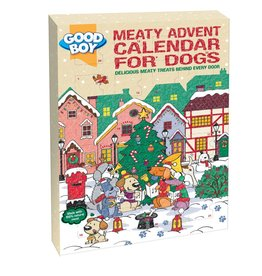 Good Boy Christmas Dog Meaty Treats Advent Calendar