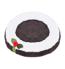 Rosewood Christmas Pudding Small Animal Snuggle Bed, 37 x 37cm