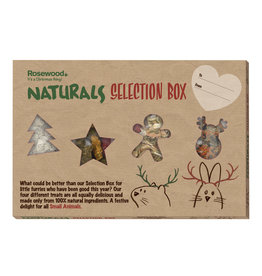 Rosewood Christmas Naturals Selection Box Small Animal Treats, 240g