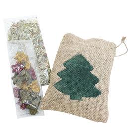 Rosewood Christmas Small Animal Santa Gift Sackeroo