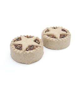 Rosewood Christmas Treat 'n' Gnaw Small Animal Mince Pies, 2 pack
