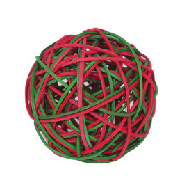 Rosewood Christmas Festive Weave-a-Balls Small Animal Toys, 3 pack