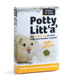 sharples Clean & Tidy Potty Litt 'a' for Hamsters & Gerbils, 470g