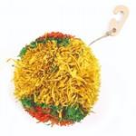 Happy Pet Bright Corny Jumbo PomPom Small Animals Toy