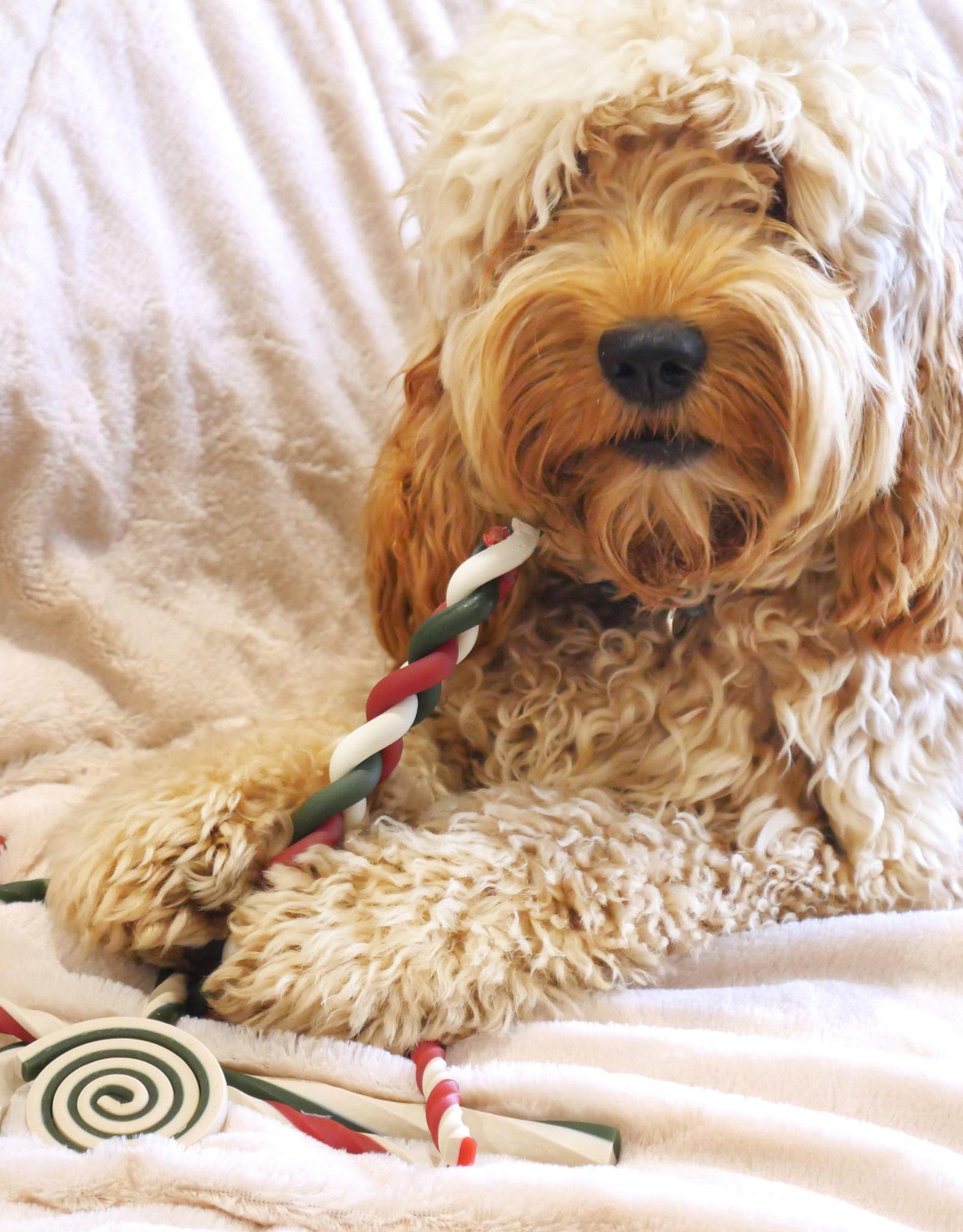 Rosewood Christmas Rawhide Free Bumper Gift Bag Dog Treat, 280g