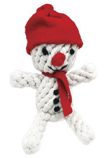 Happy Pet Christmas Rope Snowman Dog Toy