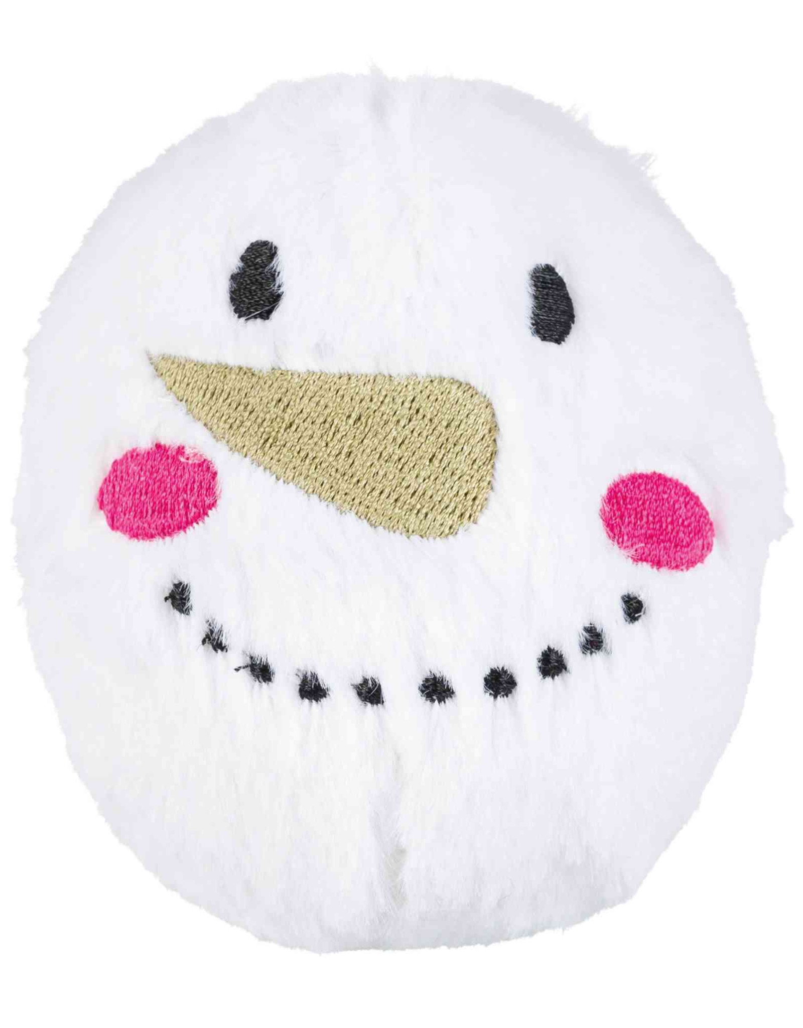 Trixie Christmas Snowball Dog Toy with Squeaker, 10cm