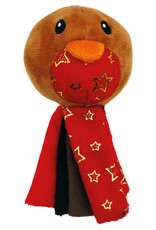 Happy Pet Christmas Tassel Robin Catnip Cat Toy