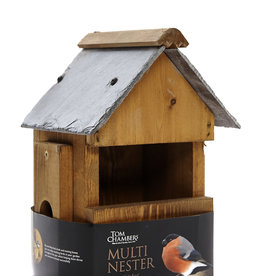 Tom Chambers Slate Roof Multi-Way Wild Bird Box (FSC)