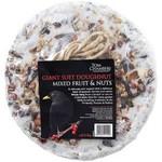 Tom Chambers Giant Suet Doughnut Mixed Fruits & Nuts Wild Bird Treat