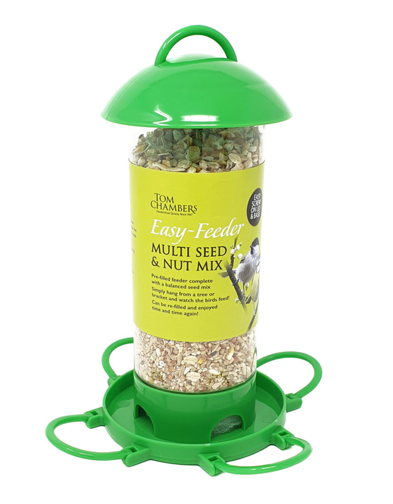 Tom Chambers Easy Feeder Multi Seed and Nut Wild Bid Mix