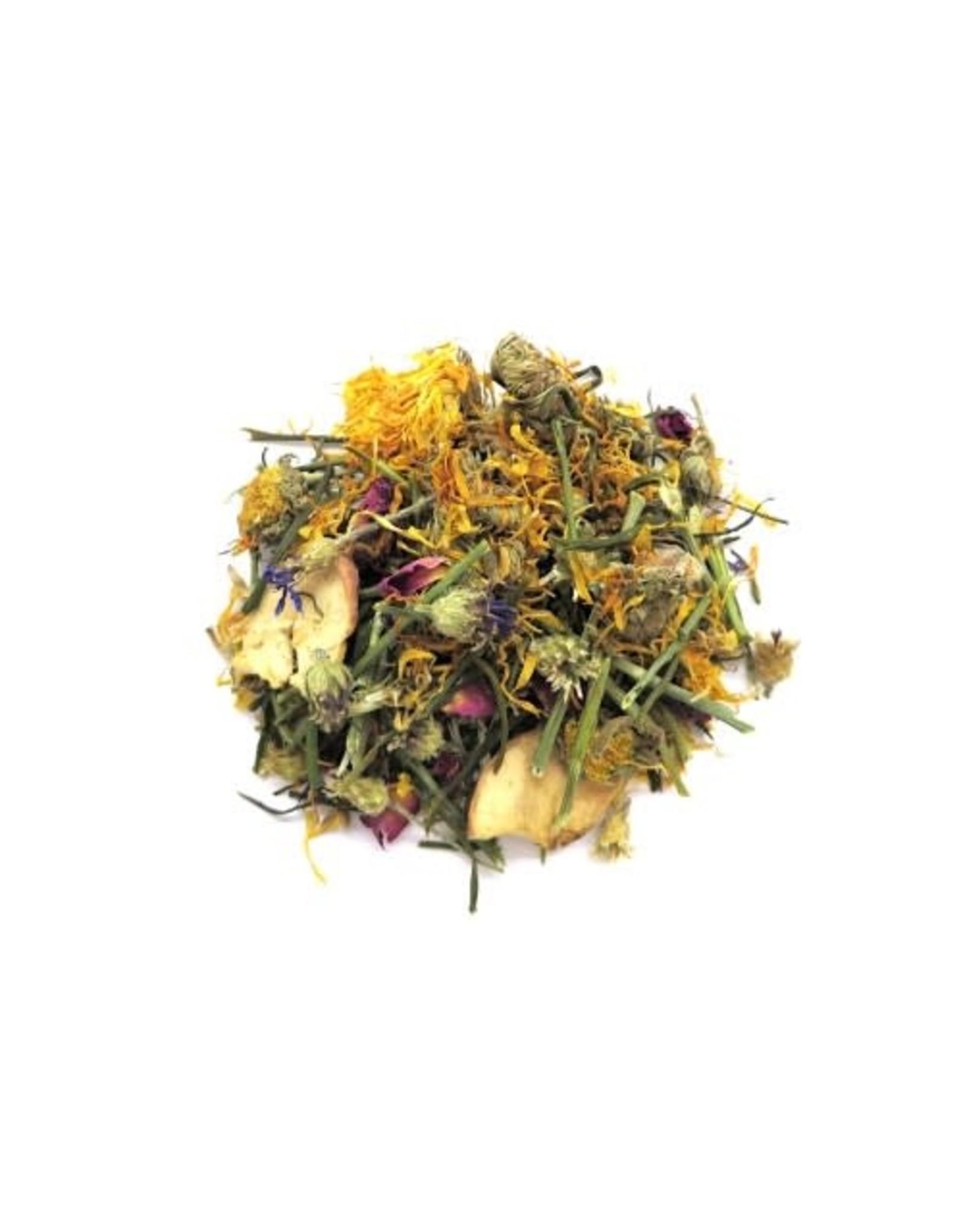Borders Complete Small Animal Mix Flower Power - rose flower, marigold, bluecorn flowers, apple chips, dill stalks 70g