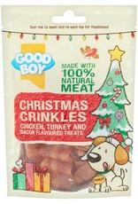 Good Boy Christmas Crinkles Chicken, Turkey & Bacon Dog Treats, 60g