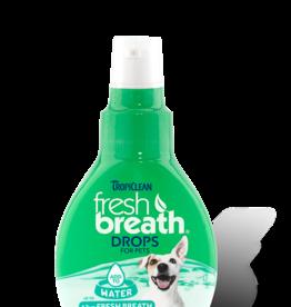 Tropiclean Fresh Breath Drops for Pets