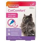 Beaphar CatComfort Calming Spot-On with Cat Appeasing Pheromones, 3 pack