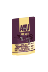 AATU Turkey & Goose Adult Cat Wet Food Pouch, 85g