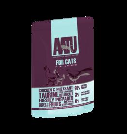 AATU Chicken & Pheasant Pouch Adult Cat Wet Food Pouch, 85g