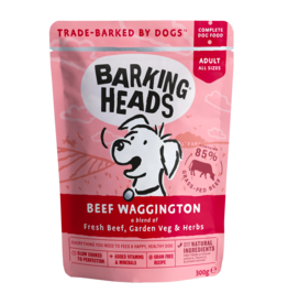 Barking Heads Beef Waggington Adult Wet Dog Food, 300g