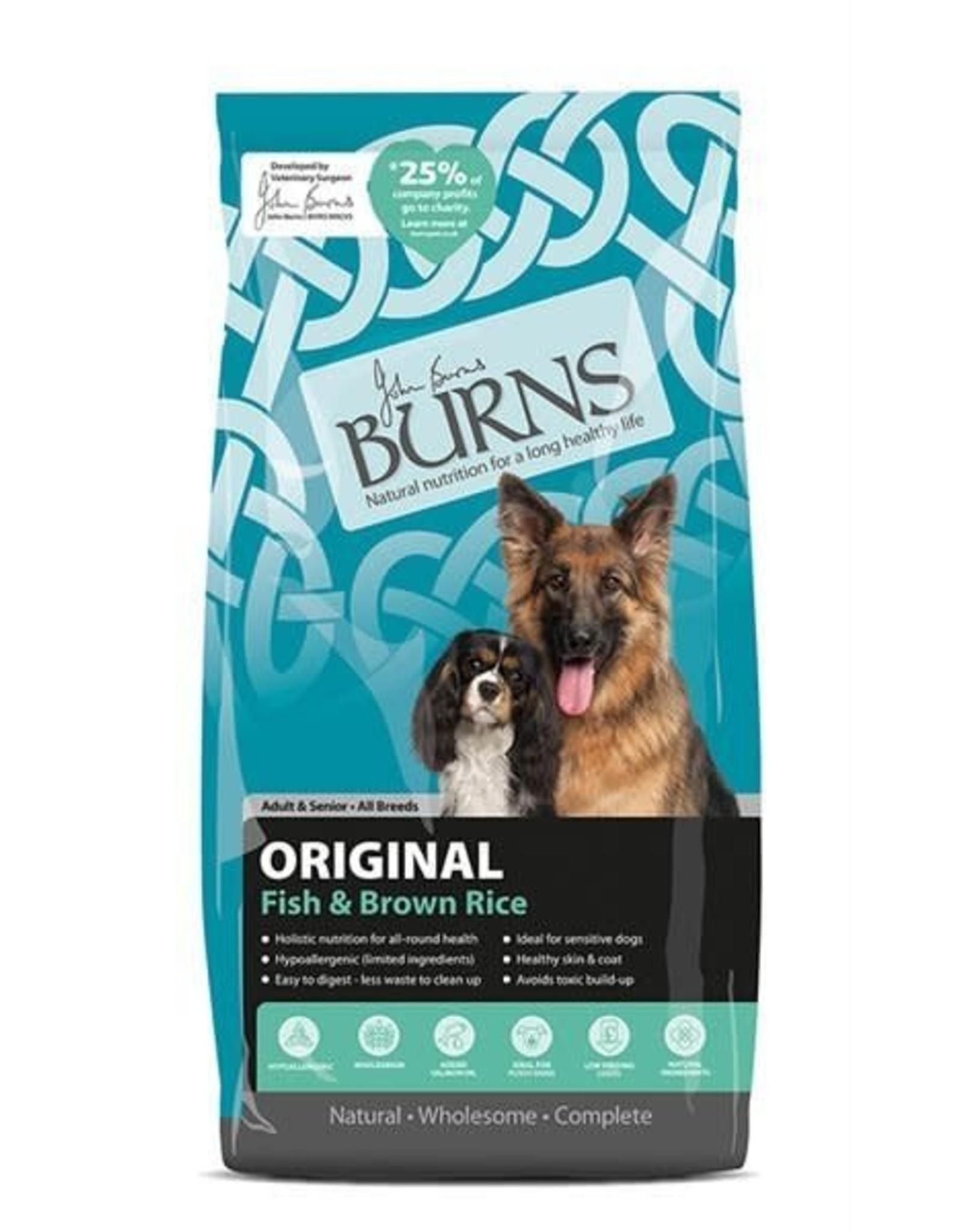 Burns Original Dog Dry Food, Fish & Brown Rice