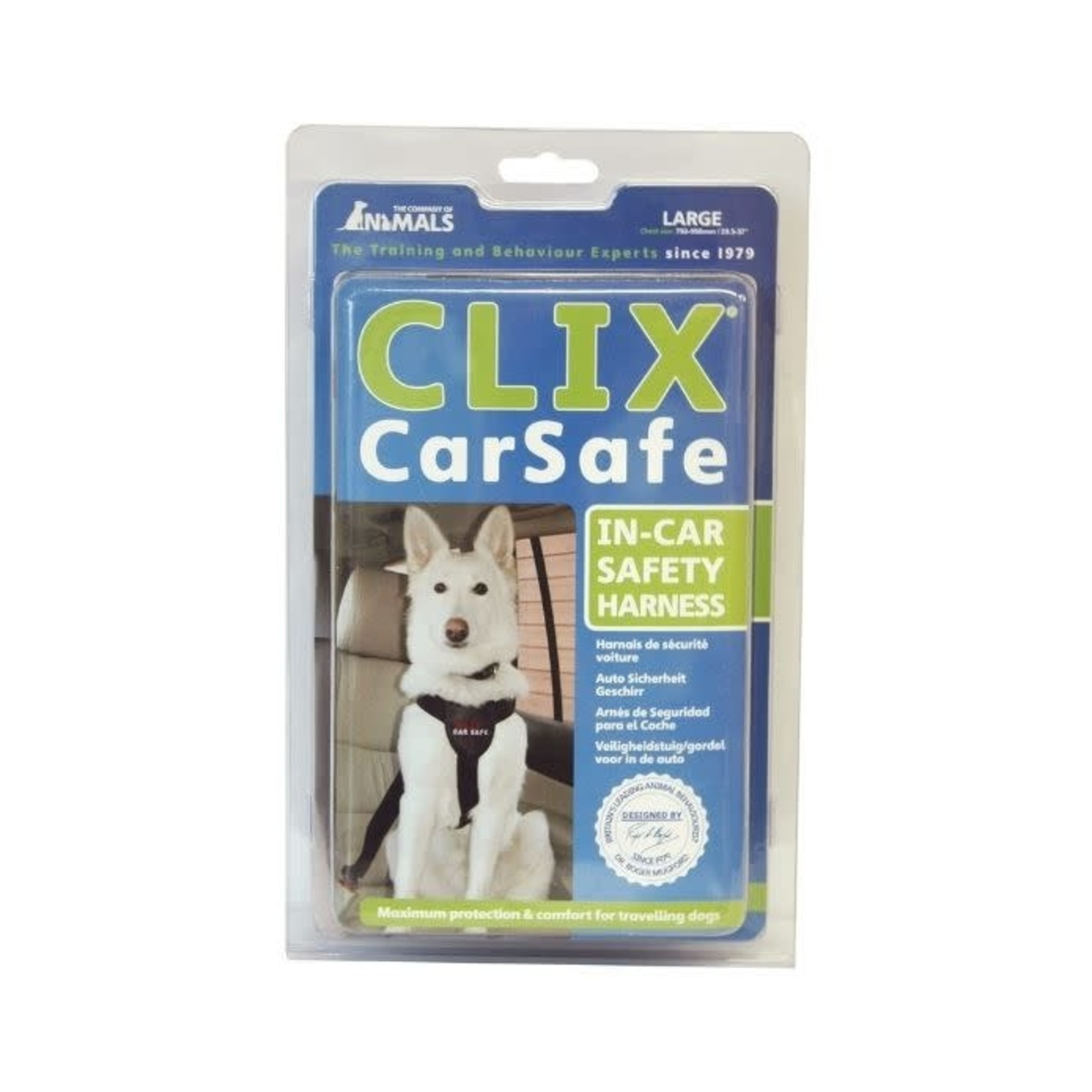Company of Animals Clix Car Safe, Dog Car Harness