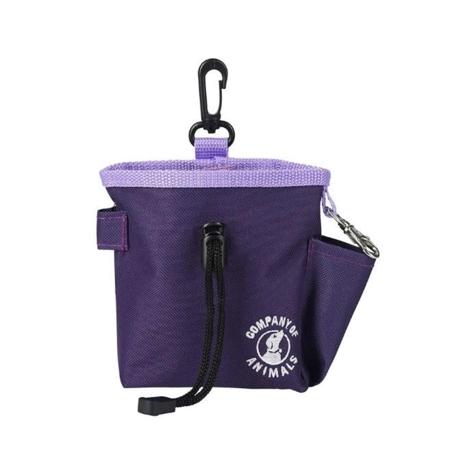 Company of Animals Dog Training Treat Bag, Purple