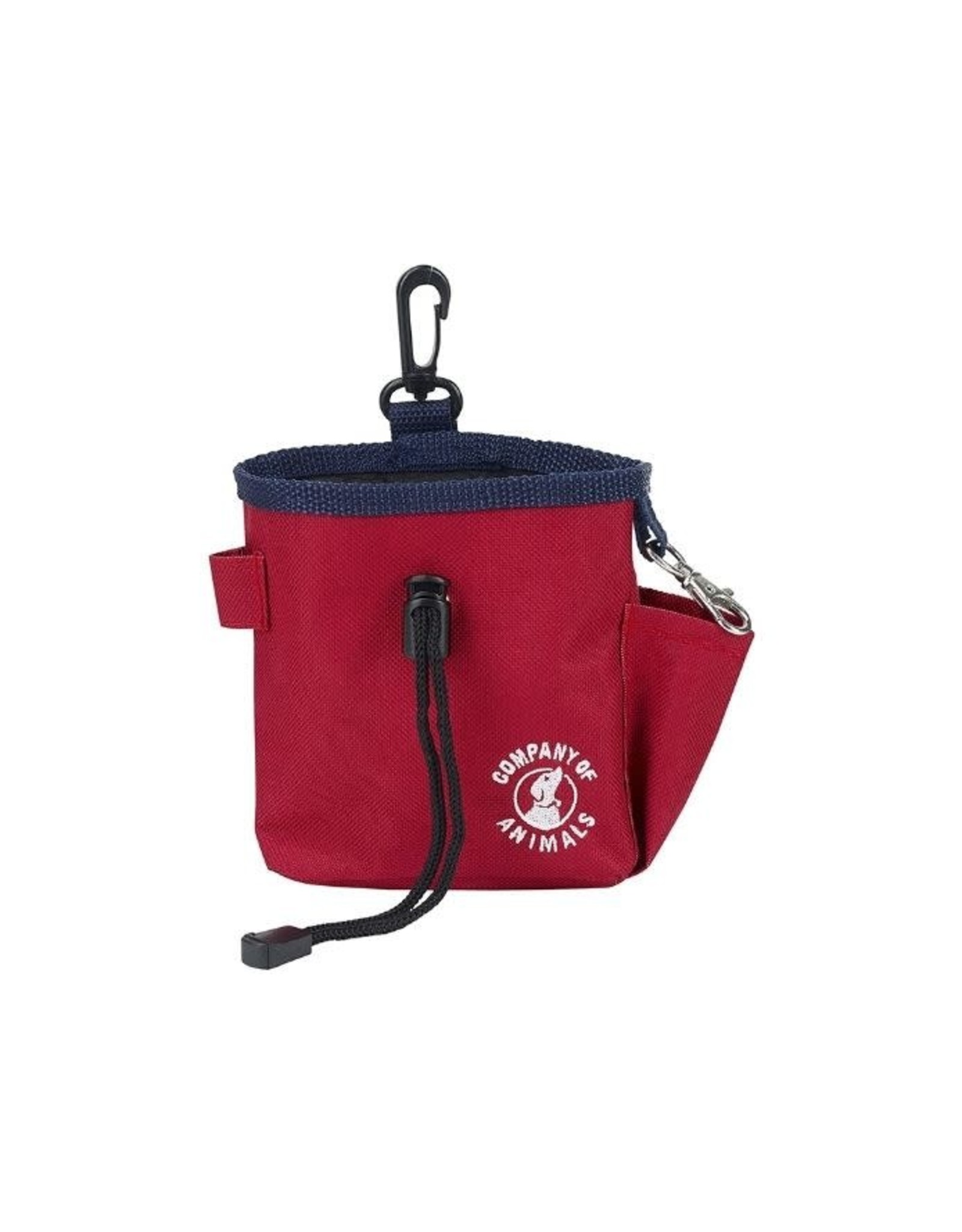 Company of Animals Dog Training Treat Bag, Red