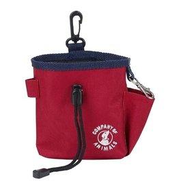 Company of Animals Dog Training Treat Bag, Red