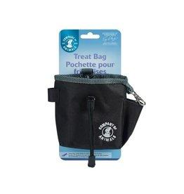 Company of Animals Dog Training Treat Bag, Black