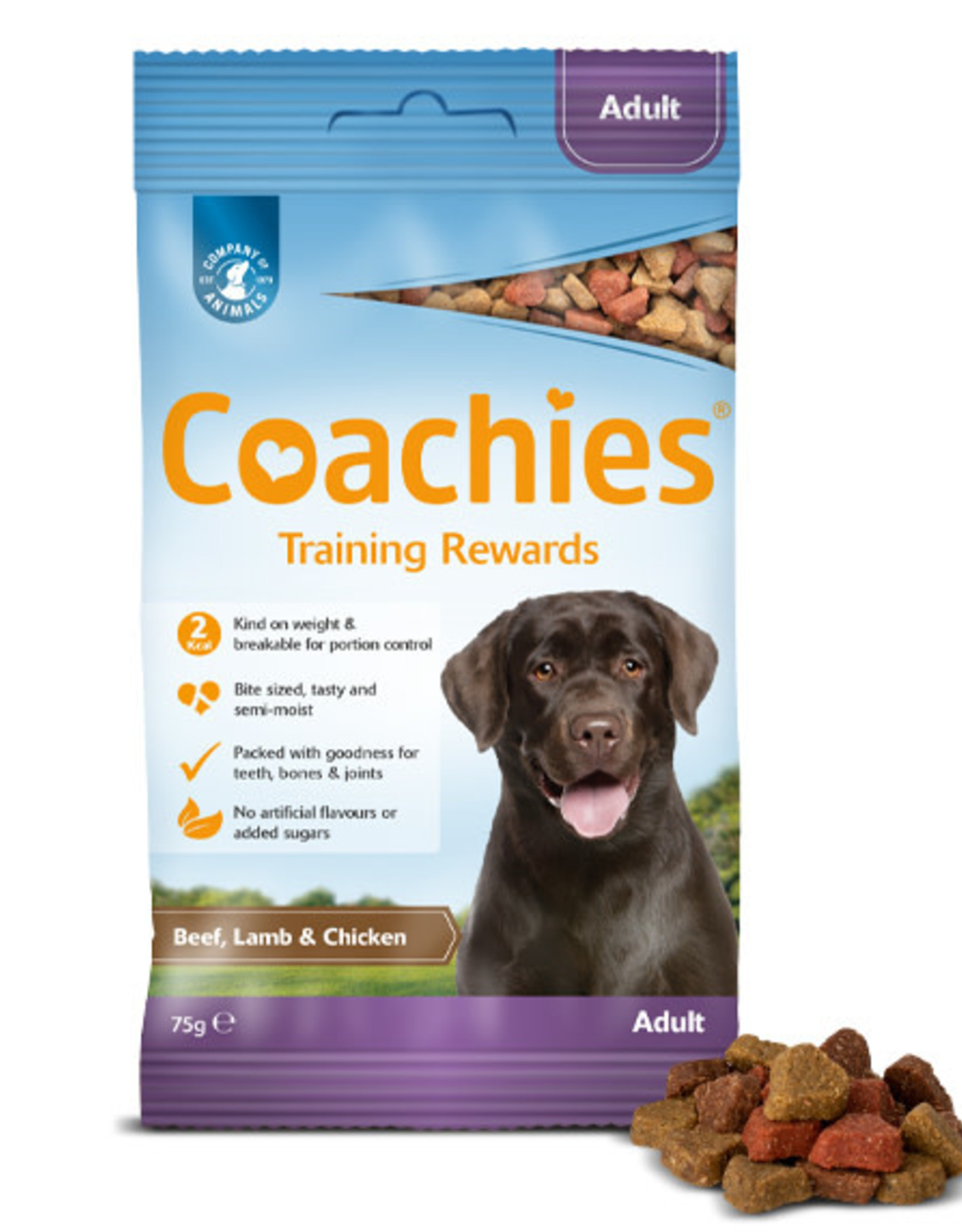 Company of Animals Coachies Adult Dog Training Treats