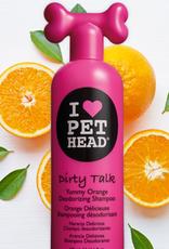 Company of Animals Pet Head Dirty Talk Yummy Orange Deodorizing Dog Shampoo 475ml