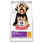 Hill's Science Plan Adult 1+ Small & Miniature Sensitive Stomach & Skin up to 10kg Dog Dry Food, Chicken