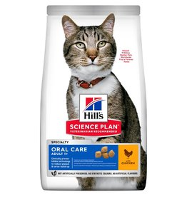 Hill's Science Plan Adult 1+ Oral Care Cat Dry Food, Chicken