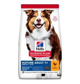 Hill's Science Plan Mature Adult 7+  Medium 11-25kg Dog Dry Food, Chicken