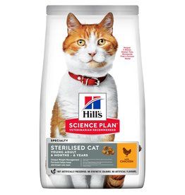 Hill's Science Plan Sterilised Cat Young Adult 6 months to 6 years Dry Food, Chicken
